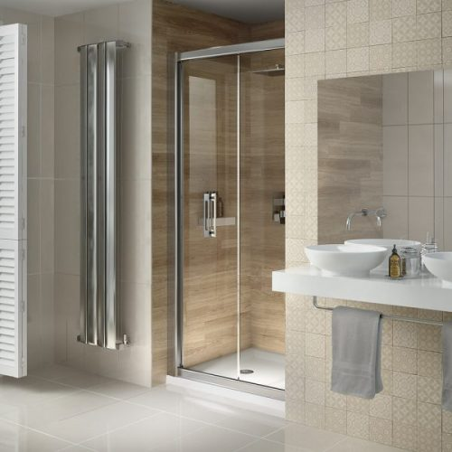 .dilusso .dSIX 6mm Bifold Door 1000mm Shower Door-0