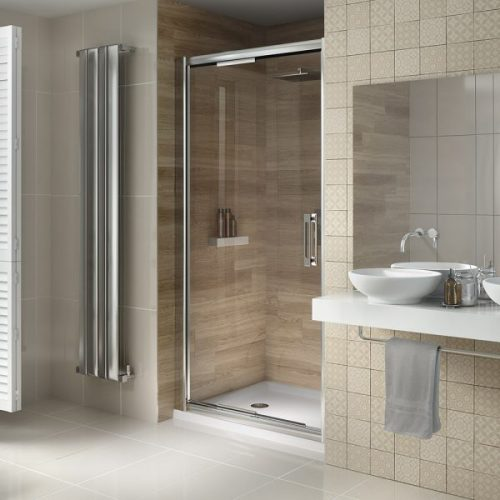 .dilusso .dSIX 6mm Inswing Shower Door 1000mm-0