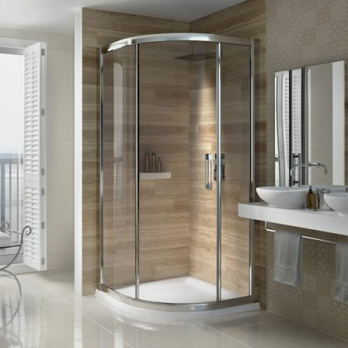 .dilusso .dSIX 1 Door Quadrant 900mm Shower Door-0