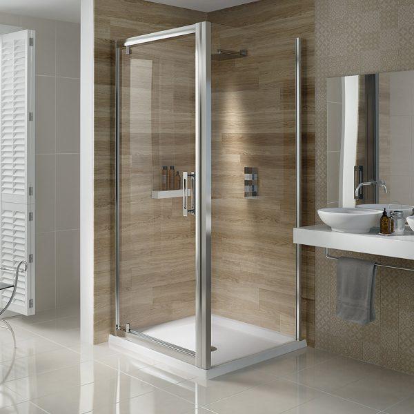 .dilusso .dSIX 6mm Pivot Shower Door 760mm -0
