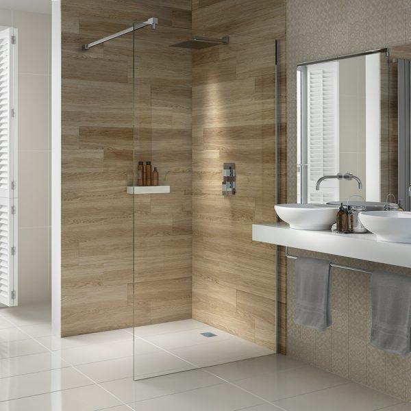 .dilusso .dTEN Wetroom Shower Screen 600mm Shower Door-0