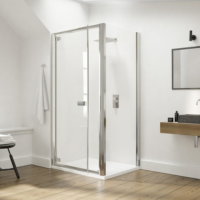 .dilusso .dEIGHT Hinge Door 900mm Shower Door-0