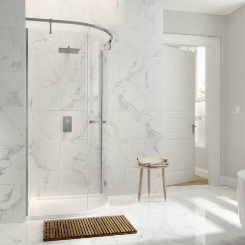 .dilusso .iNINE 1 Door Quadrant 900mm Shower Door-0