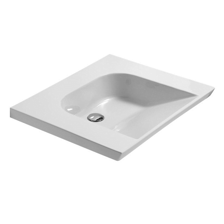 Saneux Care 70 x 60cm No Tap Hole Washbasin 7631-0