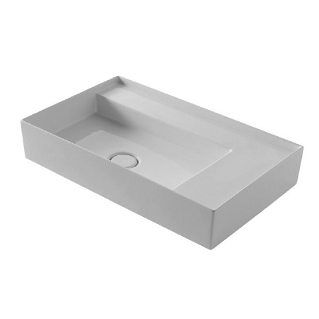 Saneux Icon 65 x 40cm Minimalist Sit on Counter Top Washbasin -0