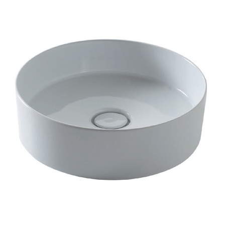Saneux Icon Circle 405mm Round Sit On Washbasin-0