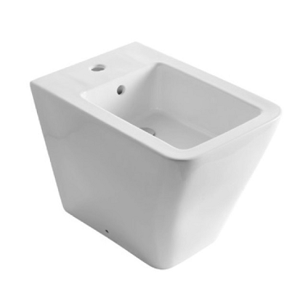 Saneux Icon Square Back To Wall Bidet Pan No Tap-0
