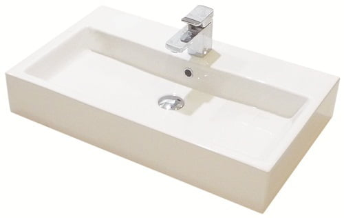 Saneux MATTEO 1 tap hole Washbasin ONLY 75 x 45cm 39003