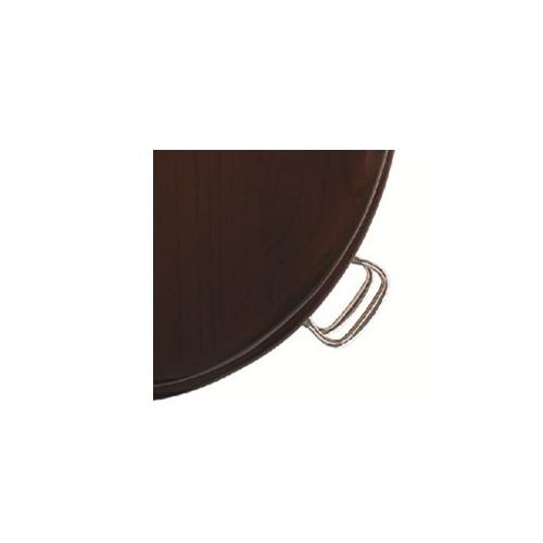 Burlington Wooden Mahogany Standard Close Toilet Seat -15596