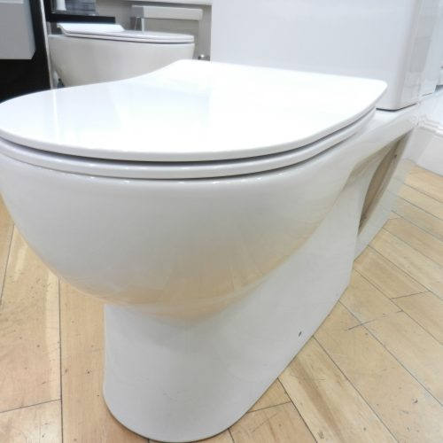 slim toilet seat for Saneux Austen toilet Wandsworth london Showroom