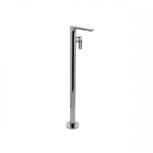 Graff Sento Floor Standing Polished Chrome Basin Mixer Tap-0