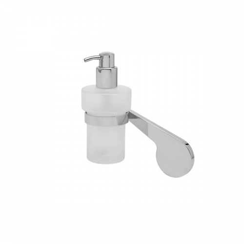 Graff Sento Wall Mounted Polished Chrome Soap Dispenser-0