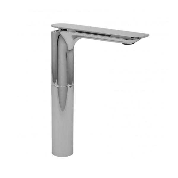 Graff Sento Polished Chrome Tall Single Lever Basin Mixer-0