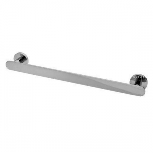 Graff Sento Wall Mounted 61cm Polished Chrome Towel Bar-0