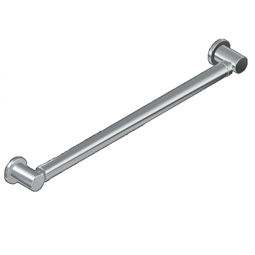Graff Sento Wall Mounted 610mm Polished Chrome Grab Bar-0