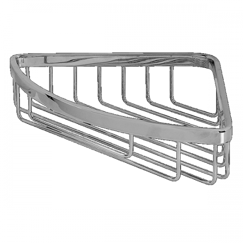 Graff Sento Wall Mounted Polished Chrome Corner Basket -0