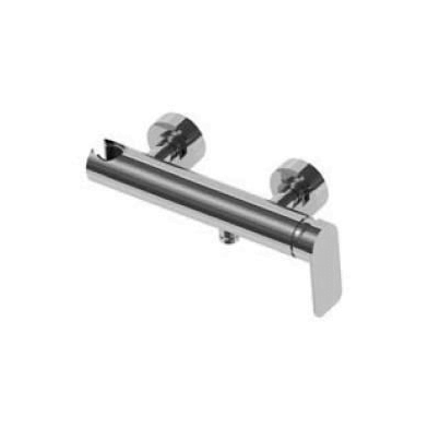 Graff Sento Wall Mounted Polished Chrome Shower Mixer-15385