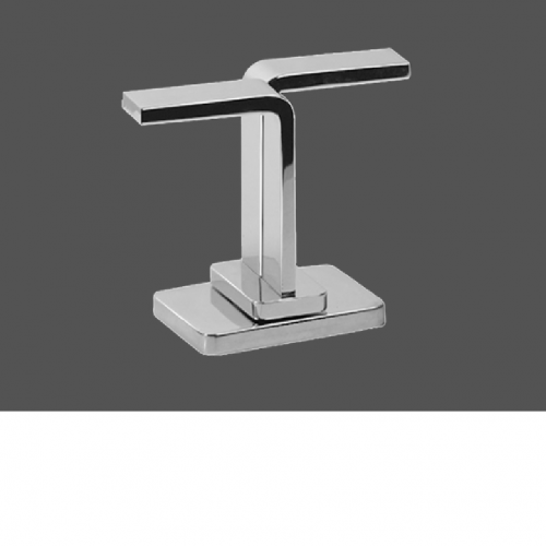 Graff Immersion Polished Chrome Deck Mounted Basin Valve - Counter Clockwise Opening