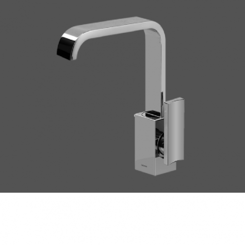 Graff Immersion Polished Chrome Single Lever Basin Mixer