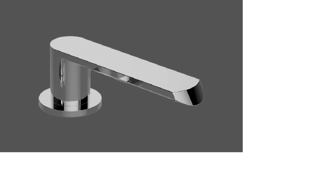 Graff Phase Deck Mounted Bathtub Spout
