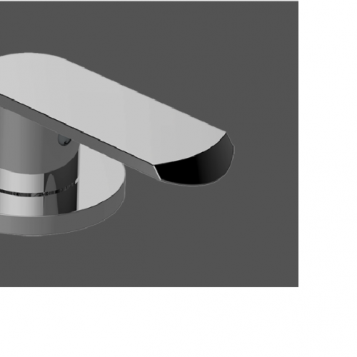 Graff Phase Deck Mounted Bathtub Valve Clockwise Deck Diverter