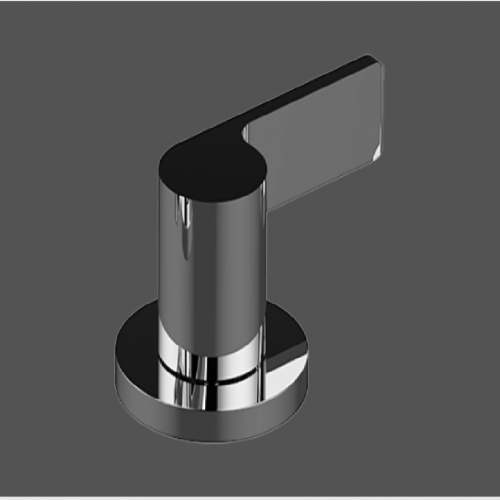 Graff Terra Polished Chrome Deck Mounted Bathtub Diverter