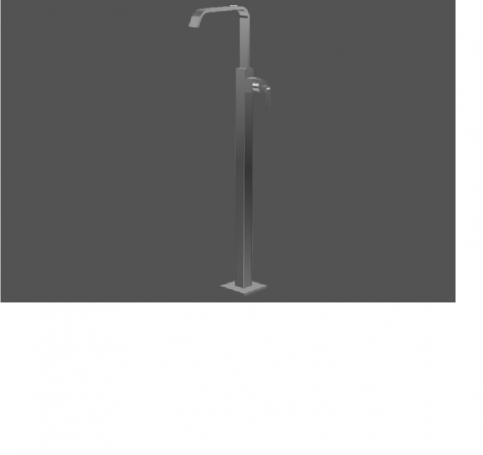 Graff Immersion Polished Chrome Floor Mounted Washbasin Spout