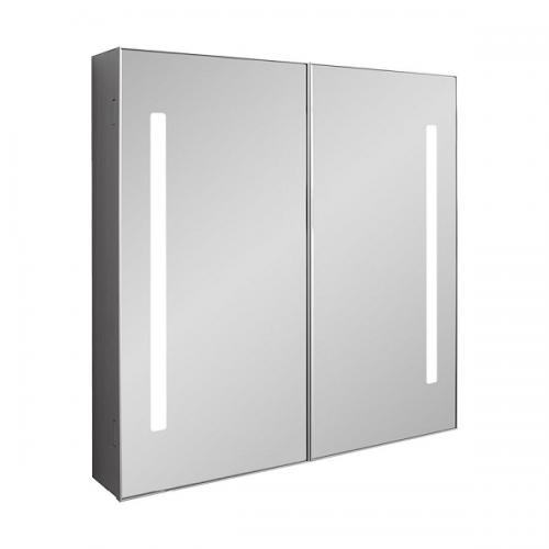 Crosswater Allure 700 LED 70 x 70cm Mirrored Cabinet AL7070AL-0