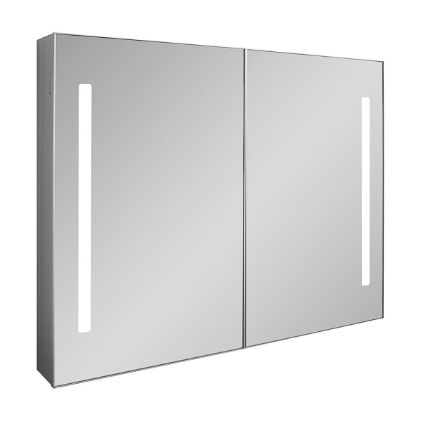 Bauhaus Allure 900 LED 90 x 70cm Mirrored Cabinet AL9070AL-0