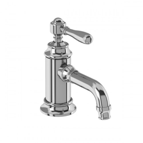 Arcade Chrome Single Handle Crosshead Basin Mixer No Waste-15966