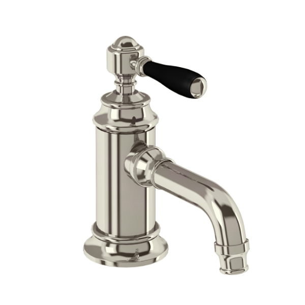 Arcade Nickel Single Handle Crosshead Basin Mini Mixer-15948