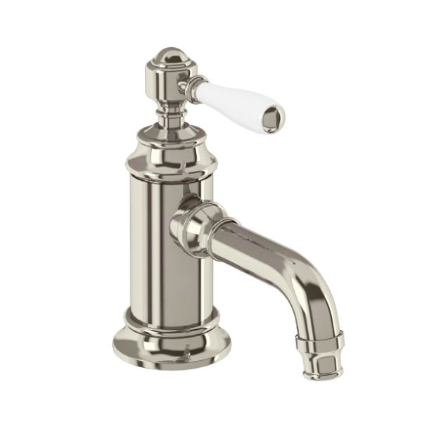 Arcade Nickel Single Handle Crosshead Basin Mini Mixer-15947