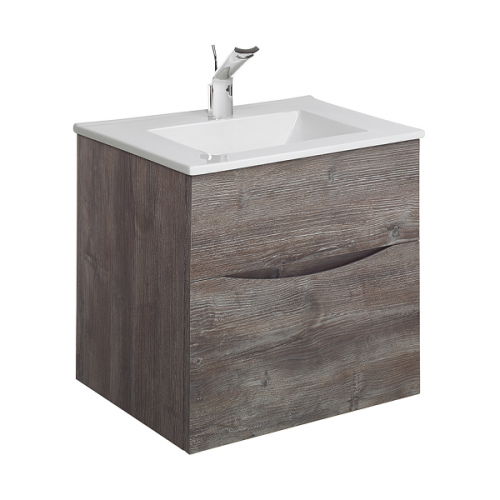 Bauhaus Glide II 500 Slim Basin And Driftwood Unit GL5000DDW+-0