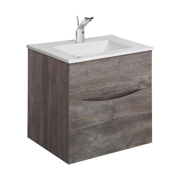 Bauhaus Glide II 500 Slim Basin And Driftwood Unit GL5000DDW+-0