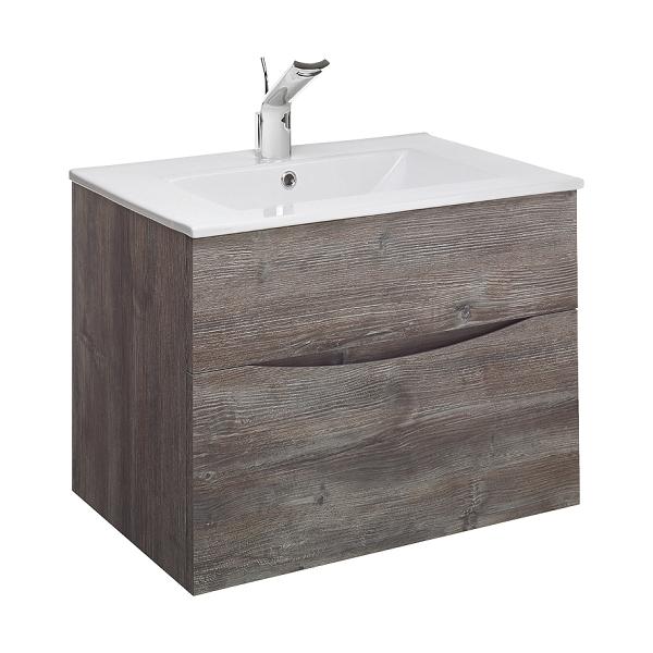 Bauhaus Glide II 700 Slim Basin And Driftwood Unit GL7000DDW+-0