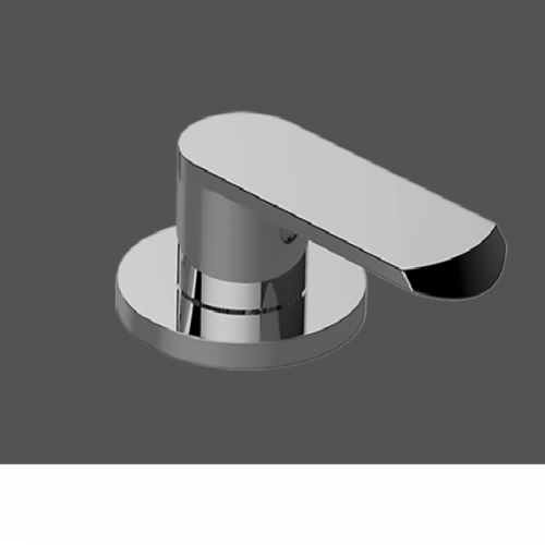 Graff Phase Polished Chrome Deck Mounted Basin Valve