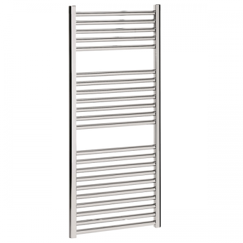 Crosswater Design Flat Panel 500 x 1110mm Chrome Towel Rail-0