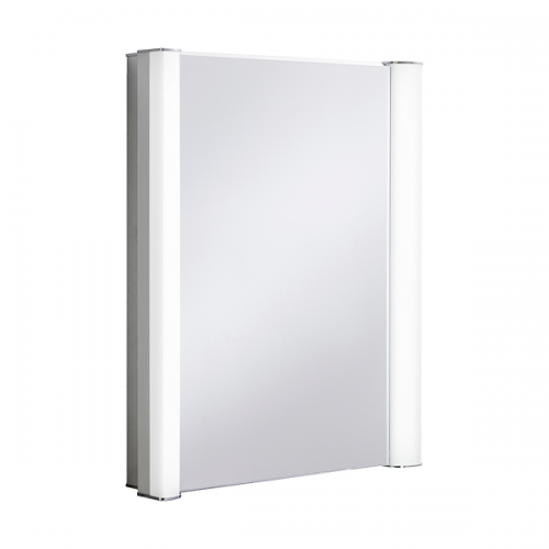 Crosswater Duo 600 LED 605 x 760mm Mirrored Cabinet-0