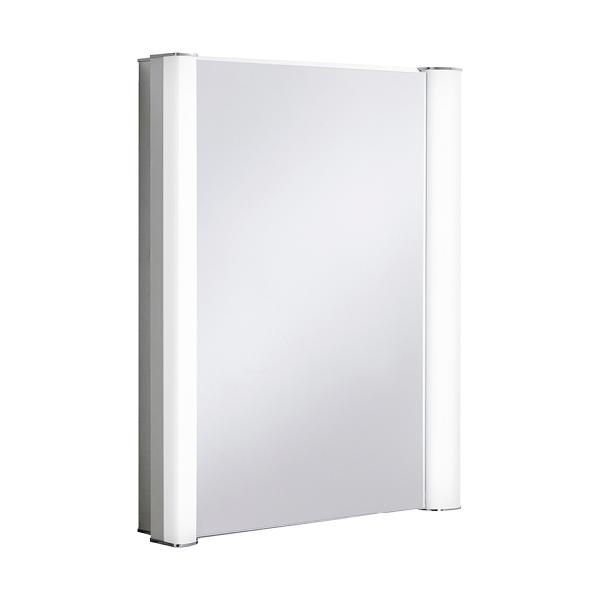 Bauhaus Duo 600 LED 605 x 760mm Mirrored Cabinet-0