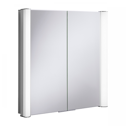 Crosswater Duo 800 LED 805 x 760mm Mirrored Cabinet-0