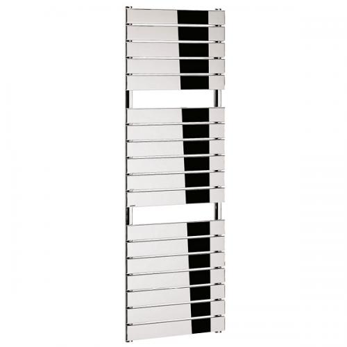 Bauhaus Elite Flat Panel 500 x 1510mm Chrome Towel Rail-0