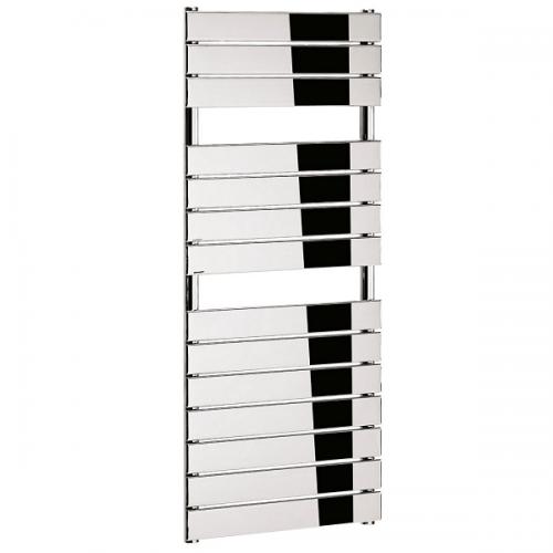 Bauhaus Elite Flat Panel 500x1210mm Chrome Towel Rail-0