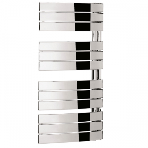 Crosswater Essence Curved Flat Panel 55x108cm Towel Rail-0