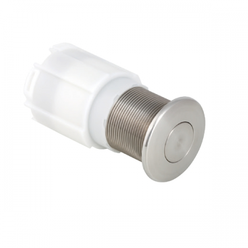 Geberit Pneumatic Stainless Steel Single Flush Button-0