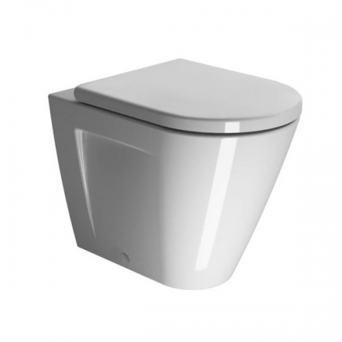GSI Norm 55 Back To Wall WC Pan and Soft Close Seat-0