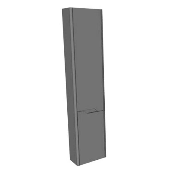 GSI Sand 365 Matt White Tall Wall Storage Unit GSSATW36MW-0