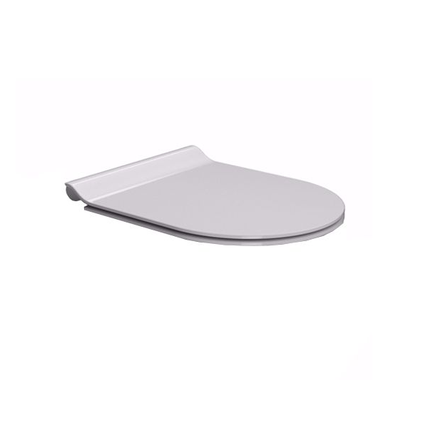 GSI Norm 55/f Swirl Flush Wall Hung Pan With Soft Close Seat-16928
