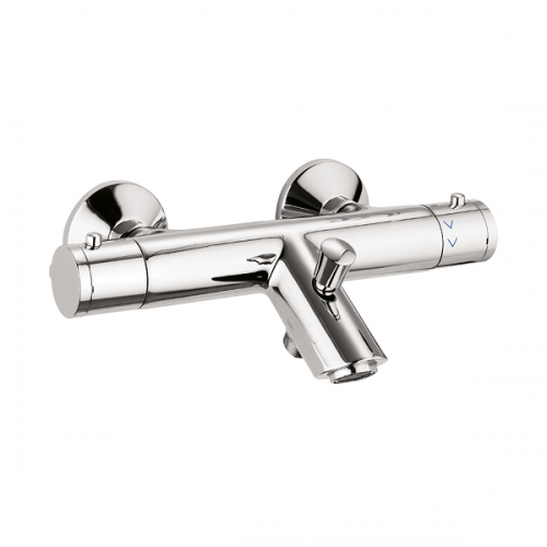 Crosswater Solo Exposed Thermostatic Valve With Rail Kit-15889