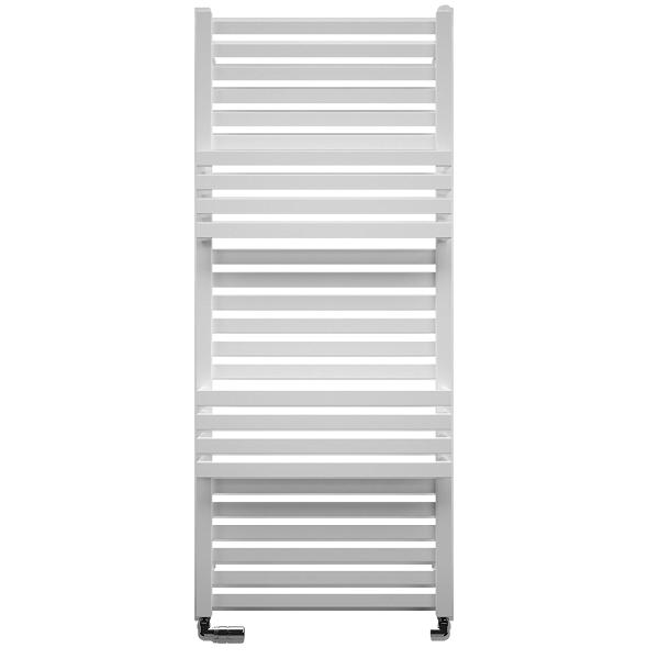 Bauhaus Seattle 500 x 1185mm Soft Matt White Towel Rail-0
