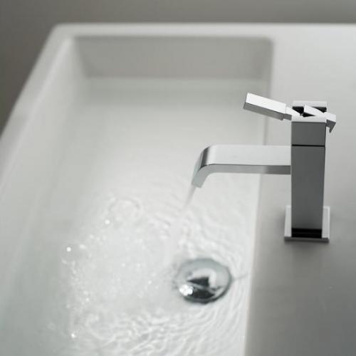 Vado Notion Slimline Chrome Mono Basin Mixer No Waste-15929